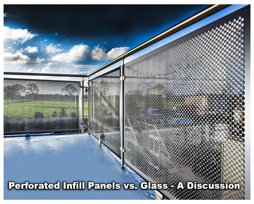 INFILL PANELS VS. GLASS