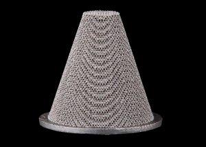 Additive Manufactured Cone Filter