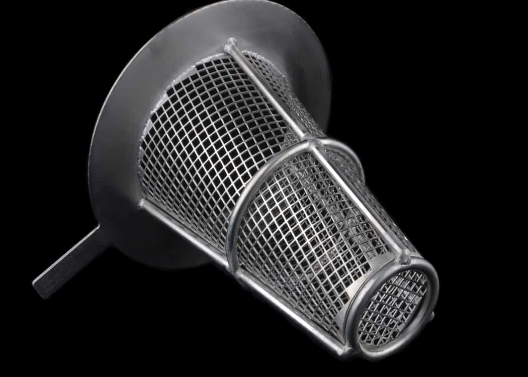 Supported Filter Strainer