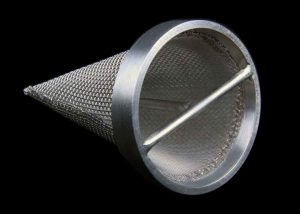 Supported Mesh Cone Filter